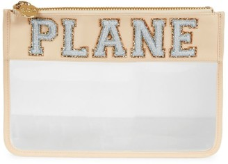 Stoney Clover Lane Plane Clear Flat Pouch