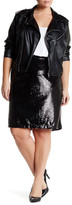 BB Dakota Lomard Sequin Skirt (Plus Size)