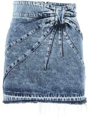 RED Valentino Denim Mini Skirt