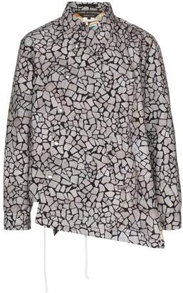 Comme des Garçons Homme Plus Asymmetric Shirt Jacket