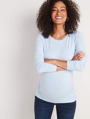 Old Navy Maternity Fitted Crew-Neck Tee