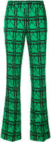 Marni graphic jacquard trousers