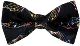Buy Your Ties Musical Notes Pre-Tied Bow Tie