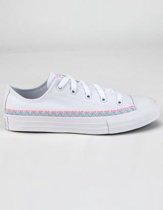 Converse Friendship Bracelet Chuck Taylor All Star Girls Low Top Shoes