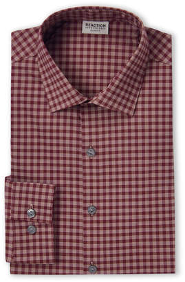 Kenneth Cole Reaction Hearth Gingham Slim Fit Dress Shirt
