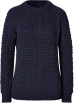 Closed Textural Knit Pullover in Navy