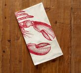 Pottery Barn Lobster Floursack Tea Towel