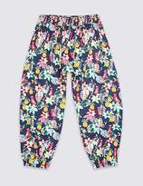 Marks and Spencer All Over Print Trousers with StayNEWTM (3 Months - 7 Years)