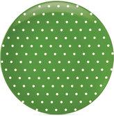 "Kate Spade Salut!"" Dots Green Melamine Salad Plate"