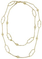 Judith Ripka 18K Yellow Gold Diamond Chelsea Links Necklace