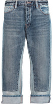 Marc by Marc Jacobs Big Jean High-Rise Paneled Jeans