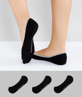 French Connection 3 Pack Foot Socks