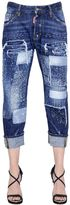 DSQUARED2 Workwear Stitched Patchwork Denim Jeans