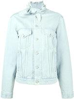 Balenciaga Swing jacket - women - Cotton - 36