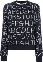 Love Moschino alphabet sweater
