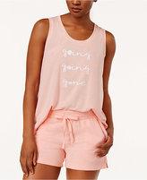Alfani Graphic-Print Pajama Tank Top, Created for Macy's