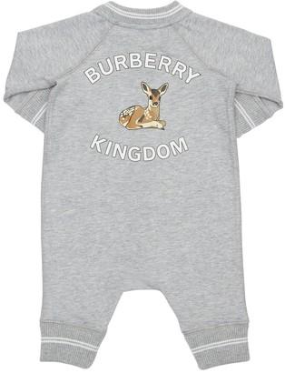 Burberry Cotton Jersey Romper