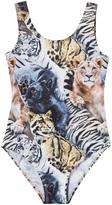 Molo Nika Wild Cats Swimsuit