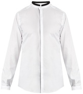 Dolce & Gabbana Mandarin-collar cotton shirt