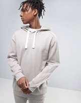 Puma Logo Pull Over Hoodie In Grey Exclusive To Asos 57532701
