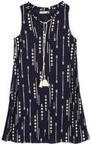 Speechless Girls 7-16 Tassel Tie Arrow Printed Shift Dress