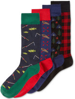 Club Room Men's 4-Pk. Great Outdoors Socks Gift Box, Only at Macy's