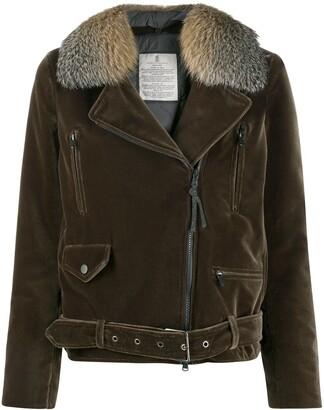 Brunello Cucinelli buckled zip-up jacket