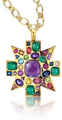 Verdura Byzantine Pendant Necklace Brooch