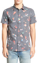 Volcom Club Destroy Short Sleeve Trim Fit Shirt
