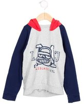 Little Marc Jacobs Boys' Hooded Printed Sweatshirt