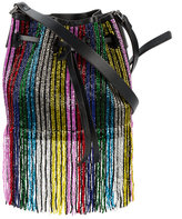 Les Petits Joueurs mini Daliah beaded bag - women - Leather/Sequin - One Size