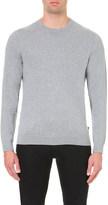 Calvin Klein Saron cotton and wool-blend jumper