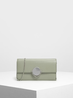 Charles & Keith Chain Link Long Wallet