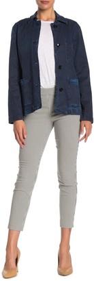 Donna Karan Woman Skinny Side Zip Straight Leg Pants