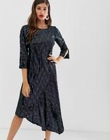 Closet London Closet assymetric dress