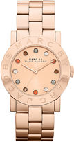 Marc by Marc Jacobs Watch, Women's Amy Rose Gold Ion Plated Stainless Steel Bracelet 36mm MBM3142
