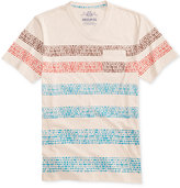 American Rag Men's Cobblestone Stripe-Print V-Neck Pocket T-Shirt, Only at Macy's