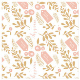 Minted Holly Holiday Personalized Wrapping Paper