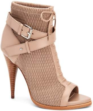 BCBGMAXAZRIA Gia Lace Up Buckle Bootie