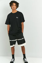 Stussy Black Spray Stripe Shorts