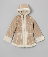 Hawke & Co Safari Faux Shearling Jacket - Toddler