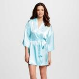 Gilligan & O Women's Bridesmaid Robe Turquoise Feather - Gilligan & O'Malley