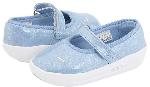 Puma Kids - Gv Spadrille Inf (Infant/Toddler) (Powder Blue/White)