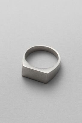 Weekday Ibrahim Signet Ring - Silver