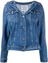 Levi's Off-Shoulder Denim Jacket