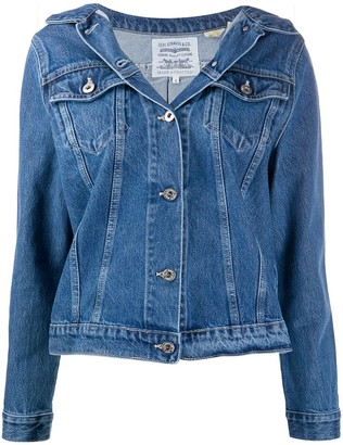 Levi's Off-Shoulder Denim Jacket