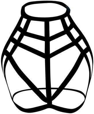 Jiegorge Intimates for Women Sexy Women Ladies Hollow Strappy Bra Cage Crop Top Bustier Tops