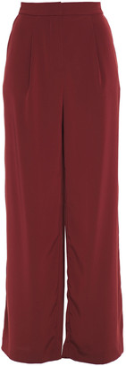 Co Satin-crepe Wide-leg Pants