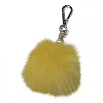 Michael Kors Yellow Fox Bag charms
