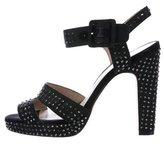 Reiss Jewel-Embellished Platform Sandals